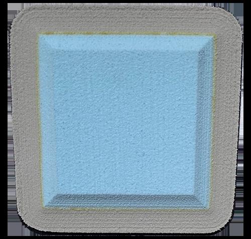 Bashful Blue- Light Grey