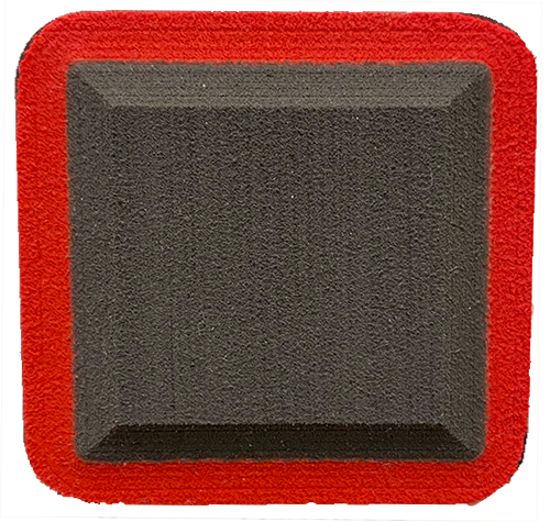 Charcoal - Red